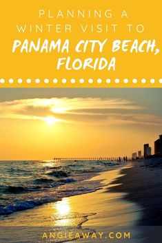 There's no place like Florida in the winter! While the rest of the country hunkers down for blizzards and ice storms, Florida tends to be balmier, milder and certainly snow-free. Check out our tips for visiting Panama City Beach, Florida, one of the most beautiful beaches in the state all year round. #Florida #TravelUSA #Beach