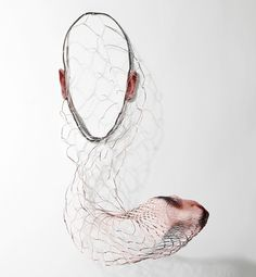 Artist Laser Cuts Portrait Photographs to Form Surreal Sculptures - My Modern Met