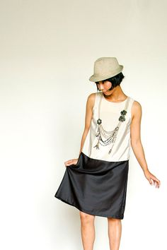 Trompe L'Oeil Dress by AtelierToiToiToi on Etsy, $65.00