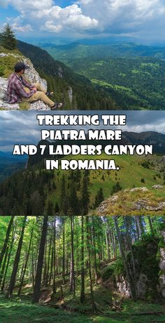 Trekking the Piatra Mare and 7 Ladders Canyon in Romania.