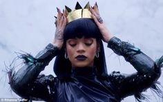 Royal Rihanna: The singer shared a seventh teaser for her long-awaited new album ANTI on T...