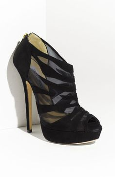 Jimmy Choo 'Kerfield' Mesh & Suede Bootie       item #373094      $975.00
