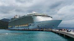Cruzeiro pelo Caribe no Allure of the Seas - o navio - Cristiane Avellar…