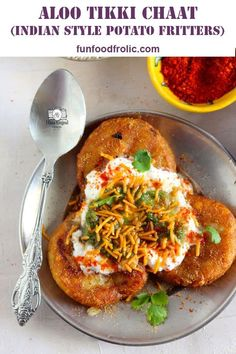 Aloo Tikki Chaat is a delicious Indian street food of crisp potato tikki loaded with curd, chutney, and spices. Learn how to make Delhi style tikki chaat.