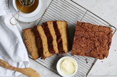 Spiced Sweet Potato Quick Bread by Mark Hyman. Grain-free, has nuts.