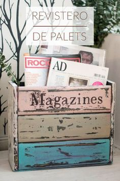 Diy Muebles Vintage Tutorials 35 Ideas For 2019 Recycled Furniture, Painted Furniture, Wood Crafts, Diy And Crafts, Decoupage, Diy Pallet Projects, Vintage Diy, Homemade Gifts, Decoration