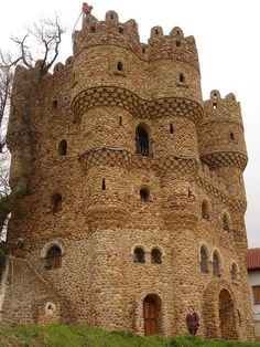 Castle in Spain  Burgos