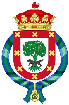 Coat of arms of Iñaki Urdangarín (1997-2015)