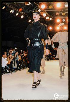 Fashion show Claude Montana | Claude Montana (Designer) and Paul van Riel (Photographer) - Europeana