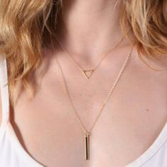 Lets make it simple have one or take it all- layering necklace set is the best choice
