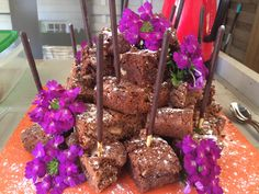 Torre de brownie