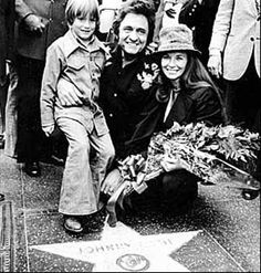 John Carter Cash, Johnny Cash, June Carter Johnny Star on the Walk of Fame