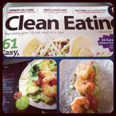 @RobynBaldwin getting creative with our Chile Shrimp tacos! Clean Eating. Order a copy of our April/May 2012 issue here: http://www.shopmusclemag.com/product.asp?productid=2291