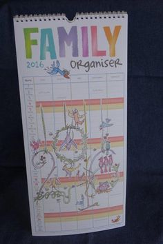 Busy mom's and dad's can now keep track of the whole families activities using the Family Organiser. Our yearly family organisers are easy to use, Calendar Organization, Family Organizer, Family Activities, Mom And Dad, Stationary, Organization
