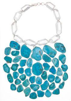 Charles Albert Sleeping Beauty Turguoise Necklace.     http://www.charlesalbert.com #charlesalbert #jewelry #fashion