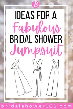 The jumpsuit is truly becoming an iconic look for the modern woman. Here are the best one we could find. #bridalshower #wedding #jumpsuit #fashion #style Bridal Shower Bouquet, Wedding Jumpsuit, Woman, Modern, Style, Fashion, Swag, Moda, Trendy Tree