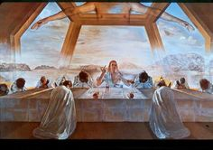 The Sacrament of the Last Supper  By: Salvador Dali