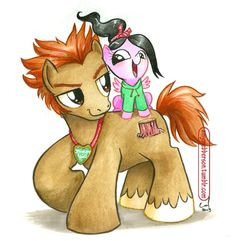 My Little Pony: Stinkbrains are Magic <-- Pinning for the caption. By: Amy Mebberson