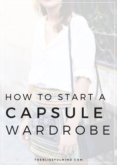 Want to save time getting ready in the morning AND spend less on clothes? You need a Capsule Wardrobe! Here's an easy guide to starting your own plus a free wardrobe planner workbook!