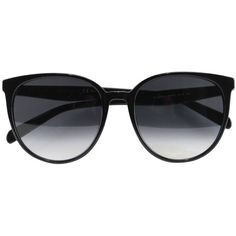 Céline Thin Mary sunglasses (€405) ❤ liked on Polyvore featuring accessories, eyewear, sunglasses, glasses, óculos, black, celine eyewear, black glasses, celine sunglasses and celine glasses