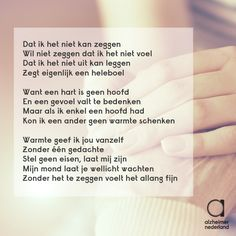 Dutch Quotes, Alzheimers, Love Quotes, Poems, Tattoos, Qoutes Of Love, Quotes Love, Tatuajes, Poetry