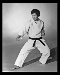 My 1st Sensei HIDY OCHIAI. Founder of the Shotokan karate style Washin-ryu.