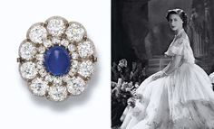 AN ANTIQUE SAPPHIRE AND DIAMOND BROOCH/CLASP  Designed as a cluster, the central cabochon sapphire within a double border of old-cut diamonds, mounted in silver and gold, brooch fittings detachable, 2.2 cm. wide, circa 1890.