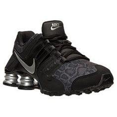 Tênis Nike Shox Women's NZ EU Running Shoes Anthracite/Fusion Red