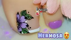 Pretty Toe Nails, Pretty Toes, Manicure, Toe Nail Designs, Toe Nail Art, Lily, Tattoos, Nail Designs, Nail Ideas