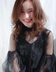 ゆるふわモテミディアム(AY-037)   ヘアカタログ・髪型・ヘアスタイル AFLOAT(アフロート)表参道・銀座・名古屋の美容室・美容院