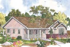 Cottage House Plan - Callaway 30-641 from Associated Designs