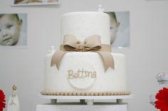 bolo batizado - Edna Decorações