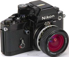 I think Nikon is the most solid, durable camera ever made. It's heavy so very steady for action shot. Every shutter click gives you total satisfaction and confidence from the sound and the feeling. Dslr Nikon, Nikon Digital Camera, Slr Film Camera, Camera Gear, Nikon Lenses, Digital Cameras, 35mm Film, Digital Slr, Old Cameras