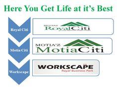 Here You Get Life at it's Best @ #3BHKFlatsinZirakpur   #MotiazRoyalCiti