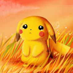 Sad moment Pikachu is very sad