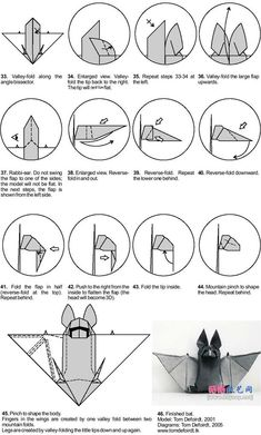 origami halloween | ... more time,you can learn how to origami halloween bat. | how to origami