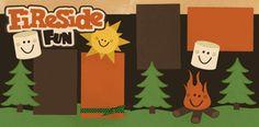 Fireside Fun Page Kit