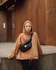 outfit of the day - Hijab+ Modern Hijab Fashion, Street Hijab Fashion, Hijab Fashion Inspiration, Muslim Fashion, Modest Fashion, Korean Fashion, Hijab Casual, Hijab Chic, Casual Outfits