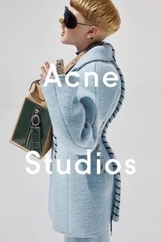 Acne Studios AW15 Womenswear campaign  The marketing for this campaign has been one of my favourites for fashion.  Silhouette.