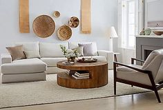 Luka Coffee Table, Smoke Gray - Coffee Tables - Living Room - Furniture | One Kings Lane