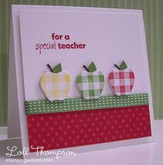 Teacher Appreciation Card by Loll Thompson