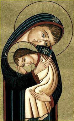 Little Office of the Blessed Virgin Mary: The World's First Love by Archbishop Fulton J. Religious Images, Religious Icons, Religious Art, Madonna Art, Madonna And Child, Lady Madonna, Blessed Mother Mary, Blessed Virgin Mary, Images Of Mary