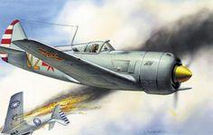 Chinese Communist La-11 vs Nationalist P-51 Chinese Civil War