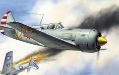 Chinese Communist La-11 vs Nationalist P-51 Chinese Civil War
