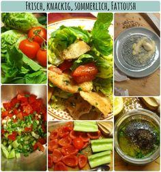 Making Fattoush #salad