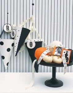 Easy Halloween craft ideas. #MarthaStewartLiving