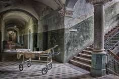 Beelitz-Heilstätten Sanatorium in Brandenburg, Germany