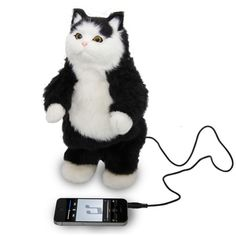 So weird, but I want it.......Dancing Cat Speaker: Image 01