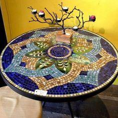 By Lion mosaic art