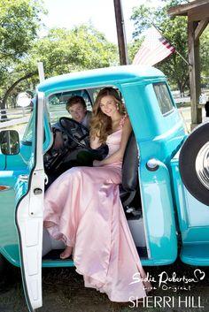 Beautiful Sadie Robertson and Sherri Hill prom dress --sadiedress3